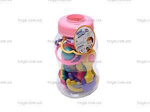 Набор детских погремушек в ручку, 326-425, купить