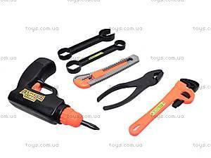 Набор детских строительных инструментов, 326-607, отзывы
