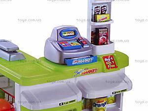 Набор детский «Супермаркет», с аксессуарами, 668B-1, купить