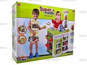 Набор детский «Супермаркет», с аксессуарами, 668B-1, цена