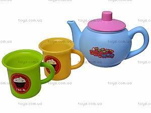 Набор детской посудки в колбе, 9933A, купить