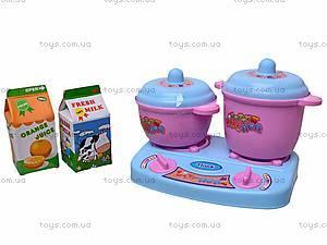 Набор детской посудки в колбе, 9933A, игрушки