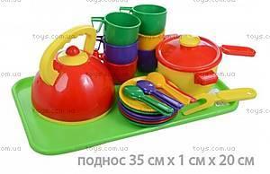 Набор детской посуды,  23 предмета,