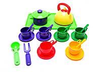 Набор детской посуды, 23 предмета, Юника, игрушки