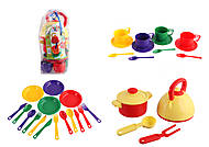 Набор детской посуды, 32 предмета, , опт