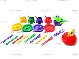 Набор детской посуды, 32 предмета,