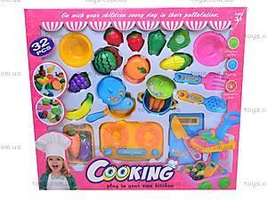 Набор детской посуды и продуктов, 1093, детские игрушки
