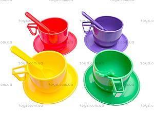 Набор детской посуды, с чайником, Юника, фото