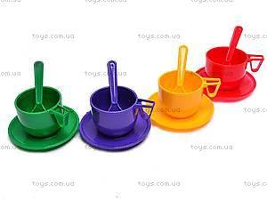 Набор детской посуды, с чайником и кастрюлей, Юника, цена