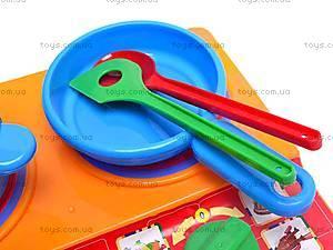 Набор детской посуды, с плитой, 04815, игрушки