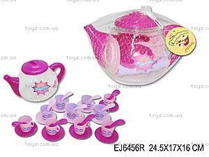 Набор детской посуды, в чайнике, EJ6456R