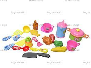 Набор детской посуды в рюкзаке, 9953, магазин игрушек