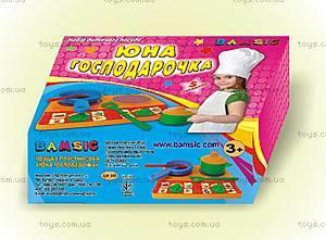 Набор детской посуды «Юная хозяйка», 048