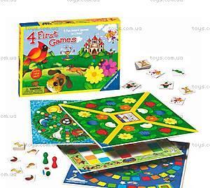 Набор детских игр Ravensburger «4 в 1», 22185-Rb