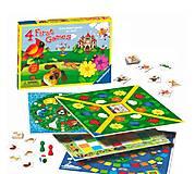 Набор детских игр Ravensburger «4 в 1», 22185-Rb, купить