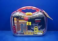Набор детских инструментов, в чемодане, T106D, фото