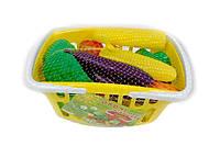 Набор детский «Овощи в корзине», ИП.18.003, тойс ком юа