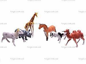 Набор диких и домашних животных, 049