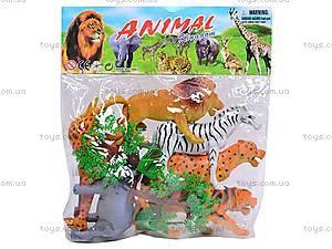 Набор диких животных для игры, 835H-2, игрушки