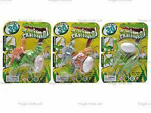 Набор динозавров, 2 фигурки, 3060-63