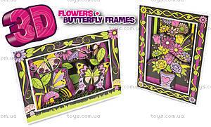 Набор для 3D рисования «Цветы и бабочки», PT3102UK(UA), купить