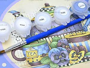 Набор для декупажа часов «Приятное чаепитие», 94504, фото