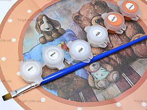 Набор для декупажа часов «Веселые медвежата», 94505, фото