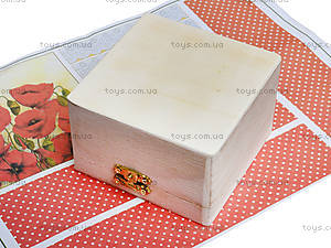 Набор для декупажа шкатулки «Маков цвет», 94500, фото