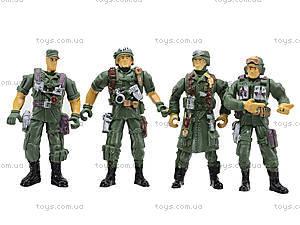 Набор для детей «Смелый командир. Военные», 0144A, купить