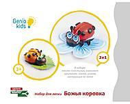 Набор для детского творчества «Божья коровка», TA1071-1, отзывы