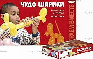 Набор для детского творчества «Чудо - шарики», ТЕ159
