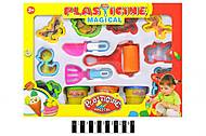 Набор для детского творчества, пластилин, 9159, фото