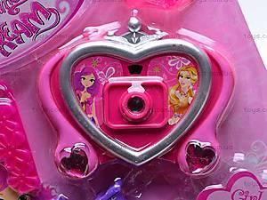 Набор для девочки с фотоаппаратом, M875-2, отзывы