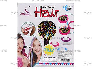 Косметика для девочек «Мелки для волос», 89020, магазин игрушек