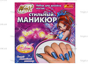Набор для дизайна ногтей «Винкс. Блум», 9840, детские игрушки
