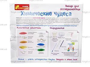 Набор для экспериментов «Химические чудеса», 0320-1, купить