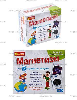 Набор для экспериментов «Магнетизм», 0324