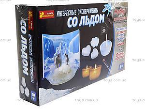 Набор для экспериментов «Интересные опыты со льдом», 0393, фото