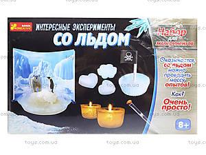 Набор для экспериментов «Интересные опыты со льдом», 0393, отзывы