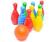 Набор для игры «Кегли», Bлас, детские игрушки