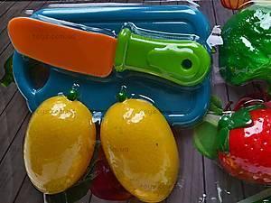 Набор для игры «Овощи и фрукты», 2012B, детские игрушки