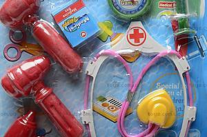 Набор для игры в доктора детский, 2251, купить