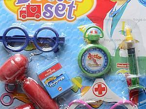 Набор для игры в доктора детский, 2251, фото