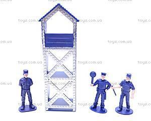 Набор для игры в полицию, 166-053, детские игрушки