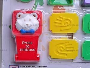 Набор для изготовления печатей, ST-555, игрушки