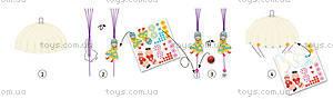 Набор для киригами «Девочки с парашютом», DJ08771, цена