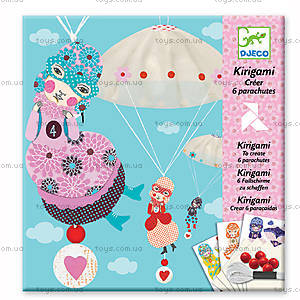 Набор для киригами «Девочки с парашютом», DJ08771