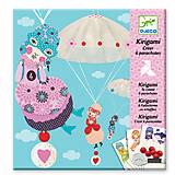 Набор для киригами «Девочки с парашютом», DJ08771, магазин игрушек