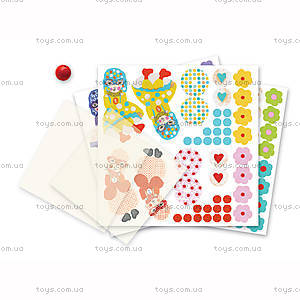Набор для киригами «Девочки с парашютом», DJ08771, игрушки