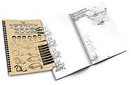 Набор для креативного творчества Sketch Book, украинский, SB-01-02, фото